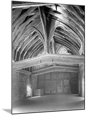 The Great Hall, Brinsop Court-Frederick Henry Evans-Mounted Photographic Print