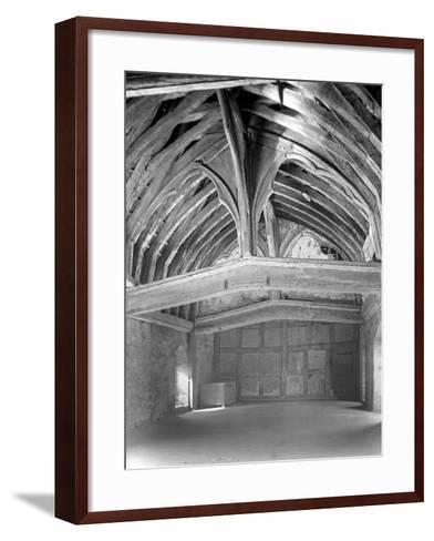 The Great Hall, Brinsop Court-Frederick Henry Evans-Framed Art Print