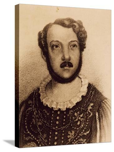 Portrait of Gian Battista Verger--Stretched Canvas Print
