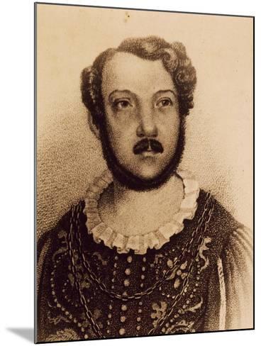 Portrait of Gian Battista Verger--Mounted Giclee Print