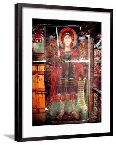 The Archangel Michael--Framed Art Print