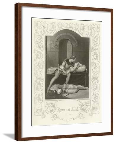 Romeo and Juliet, Act V, Scene III-Joseph Kenny Meadows-Framed Art Print