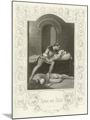 Romeo and Juliet, Act V, Scene III-Joseph Kenny Meadows-Mounted Giclee Print
