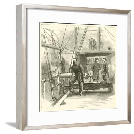 David D Porter, January 1865--Framed Art Print