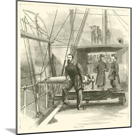 David D Porter, January 1865--Mounted Giclee Print