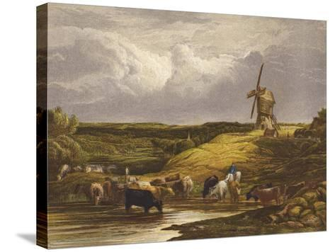 The Windmill--Stretched Canvas Print