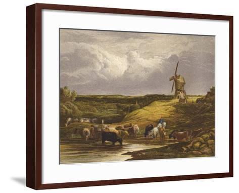 The Windmill--Framed Art Print