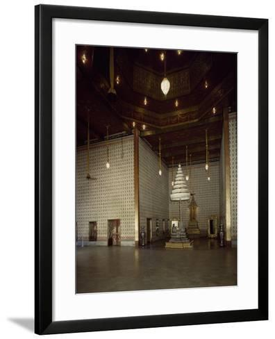 Throne of Audience Hall--Framed Art Print