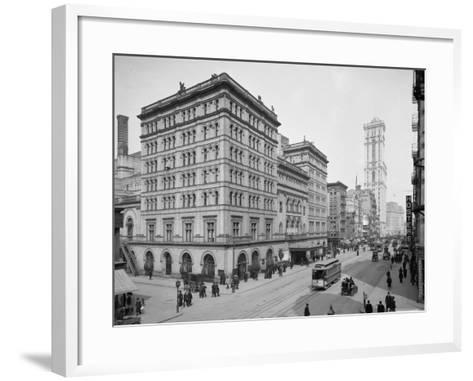 Metropolitan Opera House, New York City, C.1905--Framed Art Print