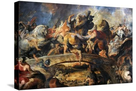 Battle of the Amazons, 1616-1618-Peter Paul Rubens-Stretched Canvas Print