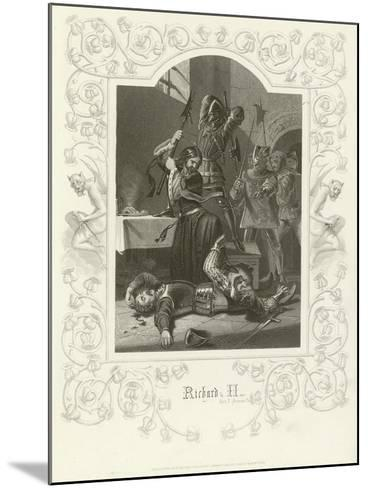 Richard II, Act V, Scene V-Joseph Kenny Meadows-Mounted Giclee Print