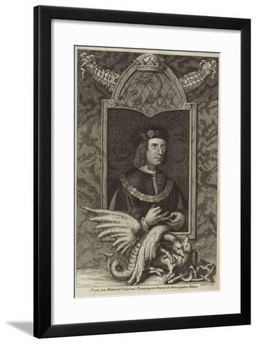 Portrait of Richard III of England--Framed Art Print