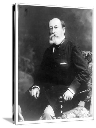 Portrait of Charles Camille Saint-Saens--Stretched Canvas Print