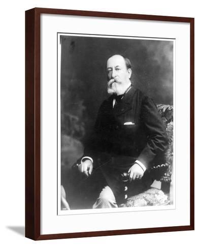 Portrait of Charles Camille Saint-Saens--Framed Art Print