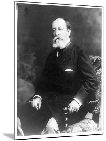 Portrait of Charles Camille Saint-Saens--Mounted Photographic Print