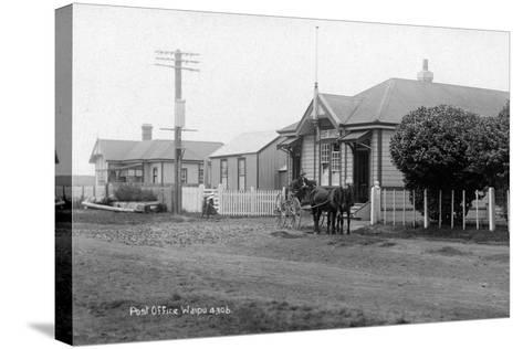 Waipu Police Station and Post Office, C.1910--Stretched Canvas Print