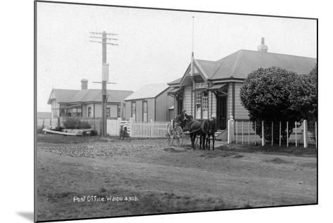 Waipu Police Station and Post Office, C.1910--Mounted Photographic Print