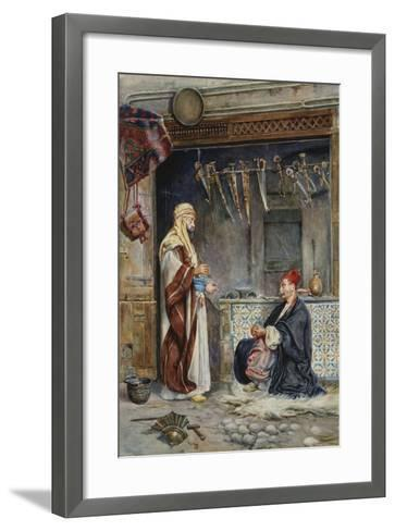 The Arms Maker-Antonia Maria de Reyna Manescau-Framed Art Print