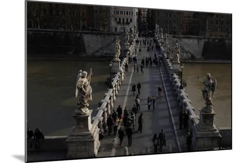 Italy. Rome. Saint Angelo Bridge--Mounted Giclee Print