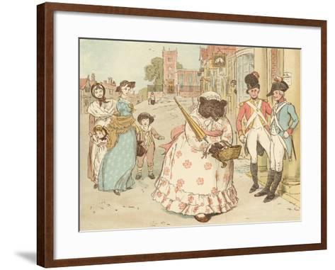 The Great Panjandrum Himself-Randolph Caldecott-Framed Art Print