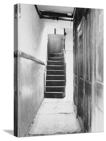 The Interior of 29 Hanbury Street,1888--Stretched Canvas Print