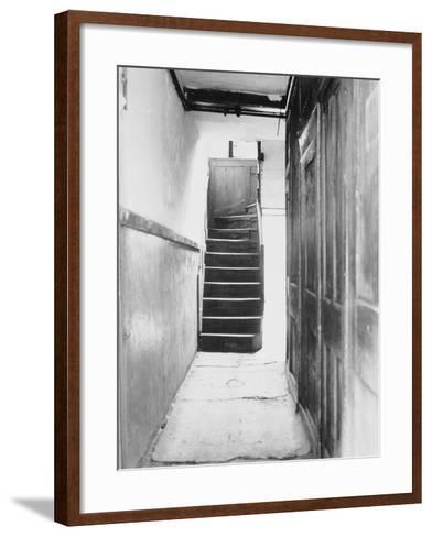 The Interior of 29 Hanbury Street,1888--Framed Art Print