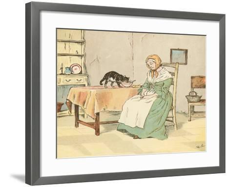 Mry Mary Blaize-Randolph Caldecott-Framed Art Print