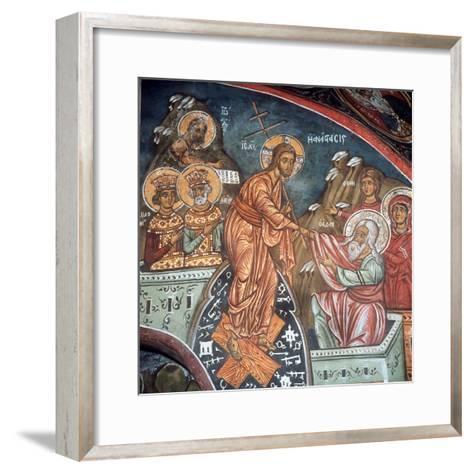 The Anastasis--Framed Art Print