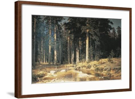 Forest, 1898-Ivan Ivanovitch Shishkin-Framed Art Print