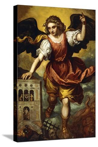 The Archangel St. Michael--Stretched Canvas Print