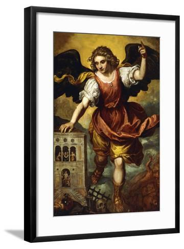The Archangel St. Michael--Framed Art Print