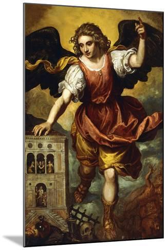 The Archangel St. Michael--Mounted Giclee Print