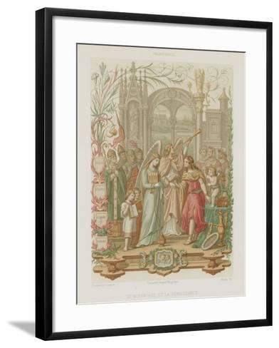 The Middle Ages and the Renaissance--Framed Art Print