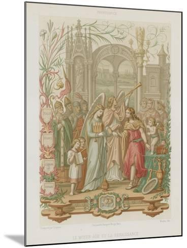 The Middle Ages and the Renaissance--Mounted Giclee Print