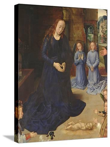 Adoration of the Shepherds-Rogier van der Weyden-Stretched Canvas Print