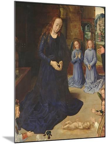 Adoration of the Shepherds-Rogier van der Weyden-Mounted Giclee Print