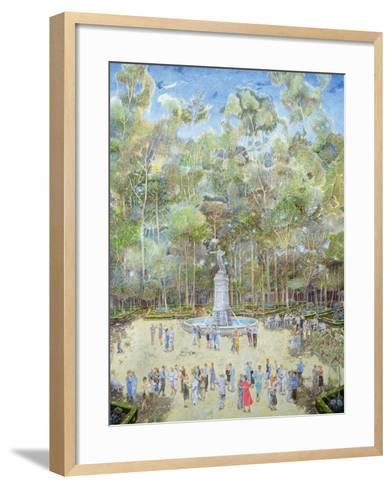 The-Dansant, Tea Evening, La Ciudadela, 2003-James Reeve-Framed Art Print