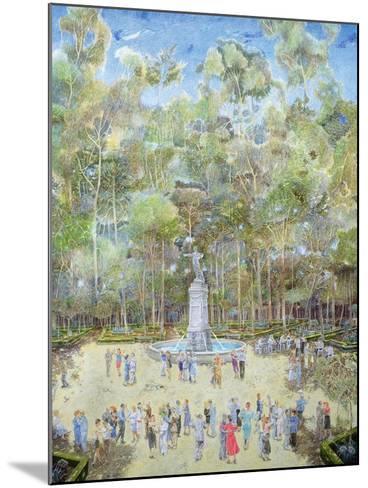 The-Dansant, Tea Evening, La Ciudadela, 2003-James Reeve-Mounted Giclee Print
