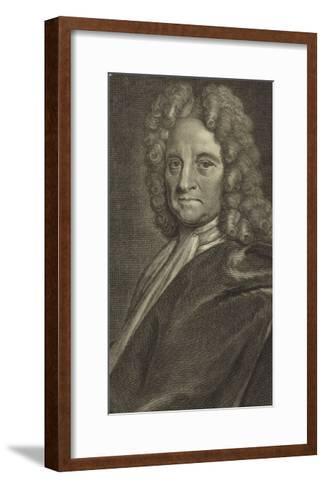 Portrait of Edmond Halley--Framed Art Print