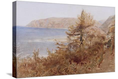 ?Lynmouth?, 1881-Albert Goodwin-Stretched Canvas Print