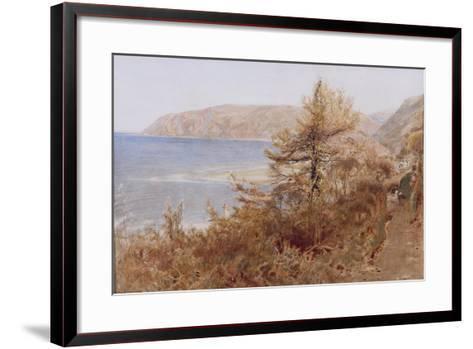 ?Lynmouth?, 1881-Albert Goodwin-Framed Art Print