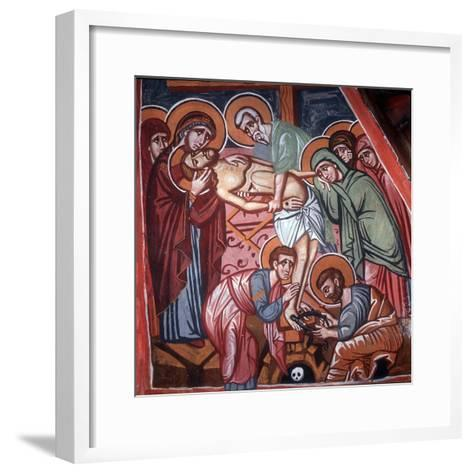 Descent from the Cross, 1494-Philippos Goul-Framed Art Print