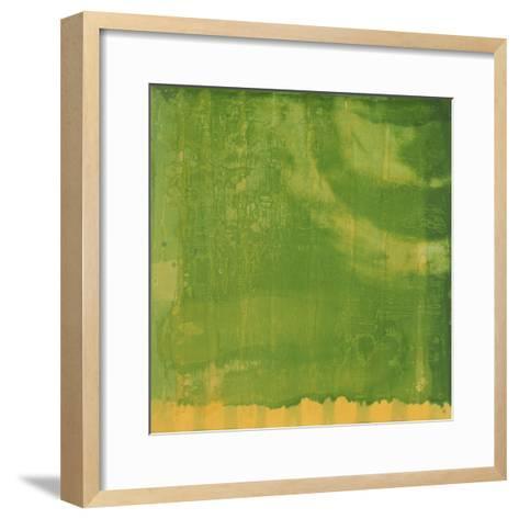 Bluerine Green, 1997-Charlotte Johnstone-Framed Art Print