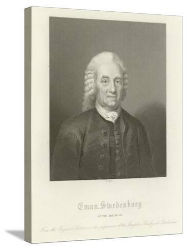 Emmanuel Swedenborg--Stretched Canvas Print