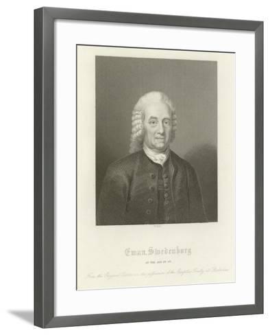 Emmanuel Swedenborg--Framed Art Print