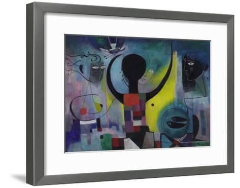 The Magic Mirror, 1955-Anneliese Everts-Framed Art Print