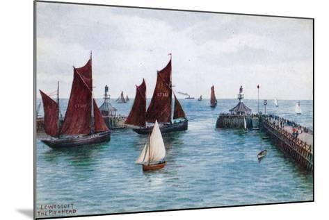 Lowestoft, the Pier Head-Alfred Robert Quinton-Mounted Giclee Print