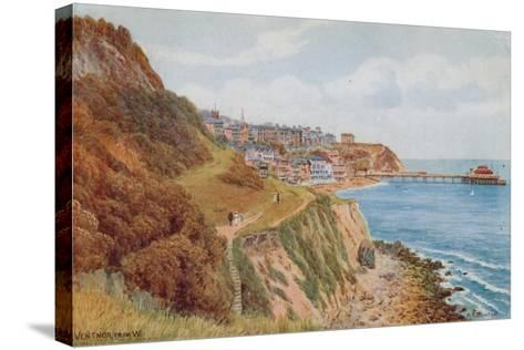 Ventnor, from W-Alfred Robert Quinton-Stretched Canvas Print