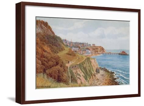 Ventnor, from W-Alfred Robert Quinton-Framed Art Print