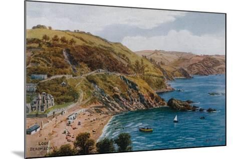Looe, Beach and Coast-Alfred Robert Quinton-Mounted Giclee Print